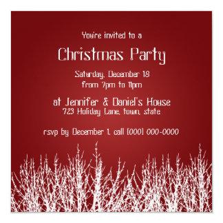 A festa natalícia dos convites da festa de Natal