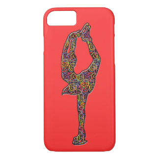 A figura capas de iphone Swirly do patinador
