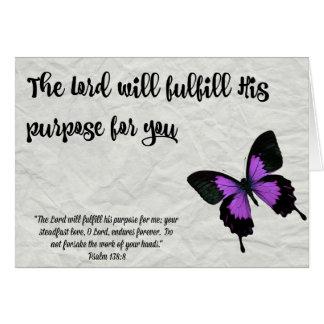 A Finalidade do Cartão- da graduação da borboleta Cartão Comemorativo