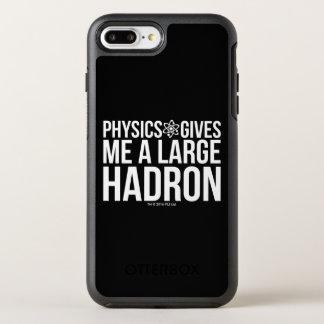 A física dá-me um grande Hadron Capa Para iPhone 8 Plus/7 Plus OtterBox Symmetry
