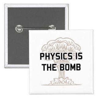 A física é a bomba nuclear boton