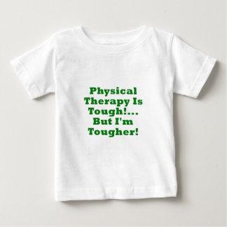A fisioterapia é resistente mas Im mais resistente Camiseta Para Bebê