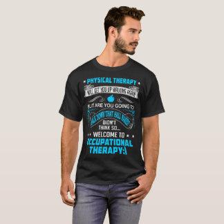 A fisioterapia levanta-se outra vez a terapia camiseta