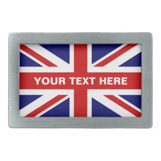 A fivela de cinto britânica   da bandeira de Union