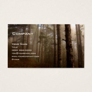 A floresta cartão de visitas