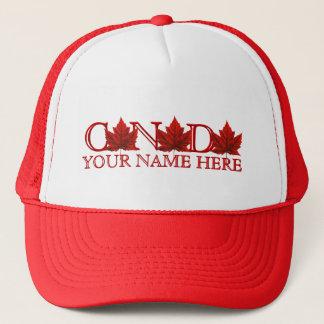 A folha de bordo de Canadá do boné da lembrança de
