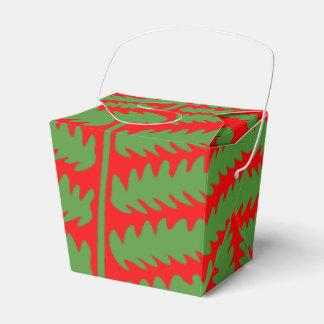 A folha verde vermelha remove a caixa do favor