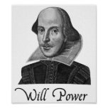 A força de vontade de William Shakespeare