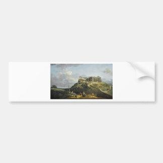 A fortaleza de Konigstein por Bernardo Bellotto Adesivo Para Carro