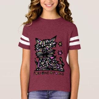 """A """"fortuna engana"""" a camisa de esporte das meninas"""