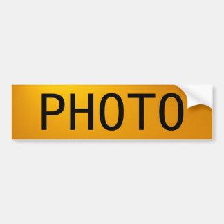 A foto adesivo para carro