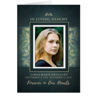 A foto Loving da cerimonia comemorativa da cerceta Cartão Comemorativo