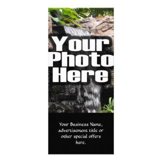 A foto personalizada costume de Digitas adiciona 10.16 X 22.86cm Panfleto