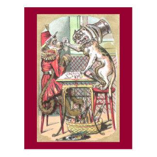 A fraude do cartão do macaco diz o buldogue