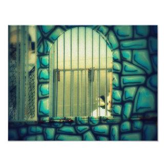 A gaiola de Rapunzel Convite 10.79 X 13.97cm