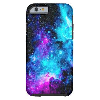 A galáxia da nebulosa Stars a caixa resistente Capa Tough Para iPhone 6