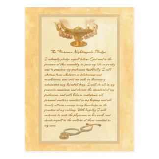 A garantia de Florence Nightingale Cartão Postal
