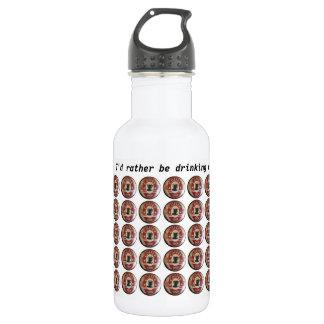 A garrafa de água com cafetaria assina dentro o