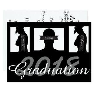 A graduação feita sob encomenda convida o cartão