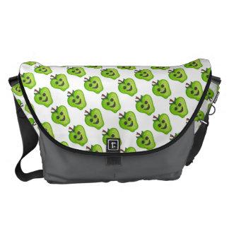 """A grande """"bolsa mensageiro (verde) do professor bolsa mensageiro"""