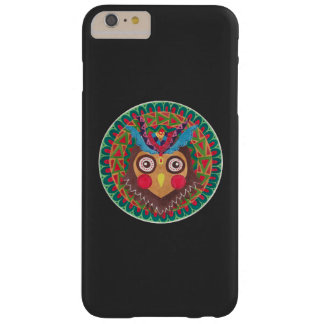 A grande coruja Horned tribal Capas iPhone 6 Plus Barely There