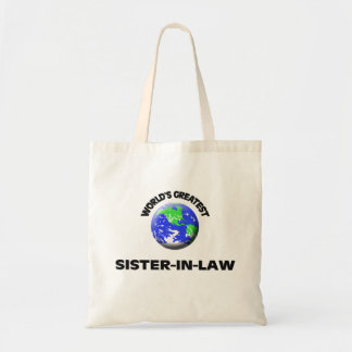 A grande cunhada do mundo bolsas de lona