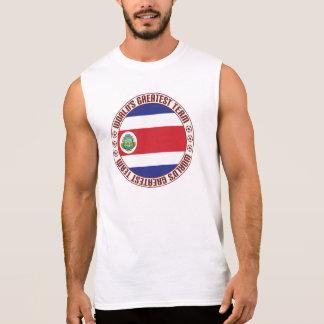 A grande equipe de Costa Rica Camisa Sem Mangas