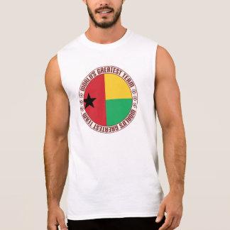 A grande equipe de Guiné-Bissau Camisetas Sem Manga