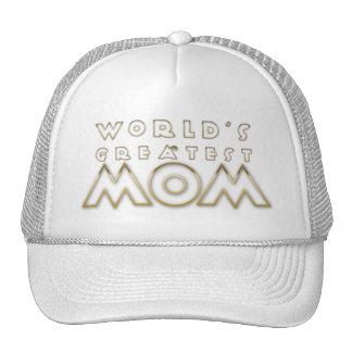 A grande mamã do mundo (esboço elegante) bonés