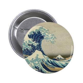 A grande onda fora de Kanagawa Boton