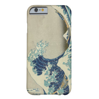 A grande onda fora de Kanagawa Capa Barely There Para iPhone 6