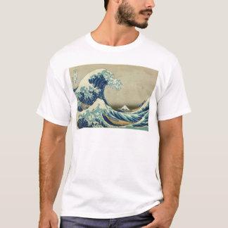 A grande onda fora de Kanagawa por Katsushika Camiseta