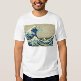A grande onda fora de Kanagawa por Katsushika Camisetas