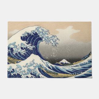 A grande onda fora de Kanagawa Tapete