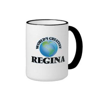 A grande Regina do mundo Canecas