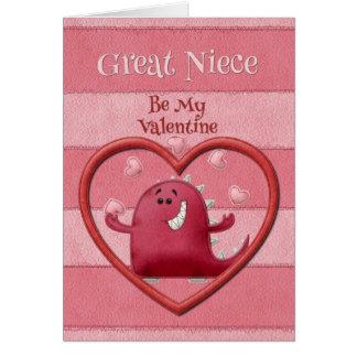 A grande sobrinha do feliz dia dos namorados seja  cartão