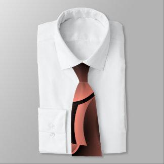 A gravata dos homens abstratos dos salmões