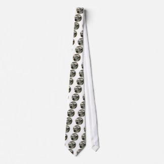 A gravata dos homens da foto do Lemur
