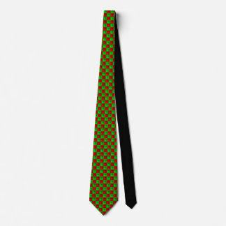 A gravata dos homens de Rhombus™ do Natal