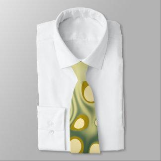 A gravata dos homens verdes das gotas