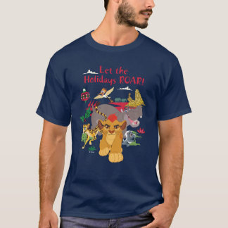 A guarda do leão | deixou o rugido dos feriados camiseta