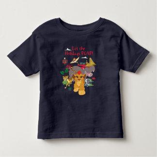 A guarda do leão | deixou o rugido dos feriados camiseta infantil