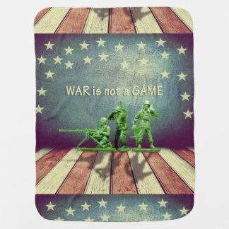 A guerra não é uma cobertura do bebê do jogo mantas para bebe
