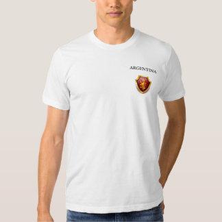 A herança alinha a preparação de ARGENTINA do Camisetas