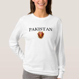 A herança alinha o orgulho W de PAQUISTÃO da Camiseta