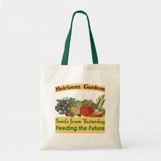 A herança jardina sacola verde do provérbio sacola tote budget