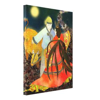 A história de Chilseok na arte das canvas de Corei Impressão Em Tela Canvas