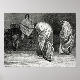 A história ilustrada de Cassell de England Impressão