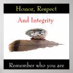 A honra, o respeito, e a integridade, recordam… impressão