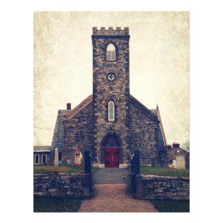 A igreja anglicana de St Paul Papeis De Carta Personalizados